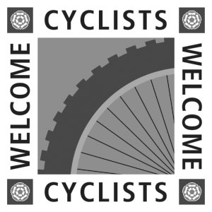 Cyclists are welcome at Broccoli Bottom