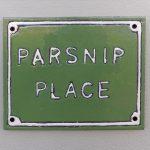 Parsnip Place Sign